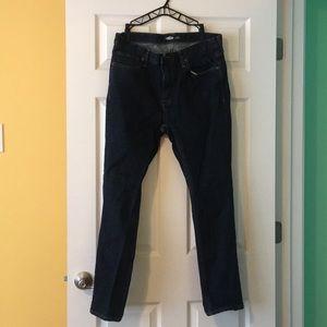 Old Navy skinny built in flex jeans. Size 36x30